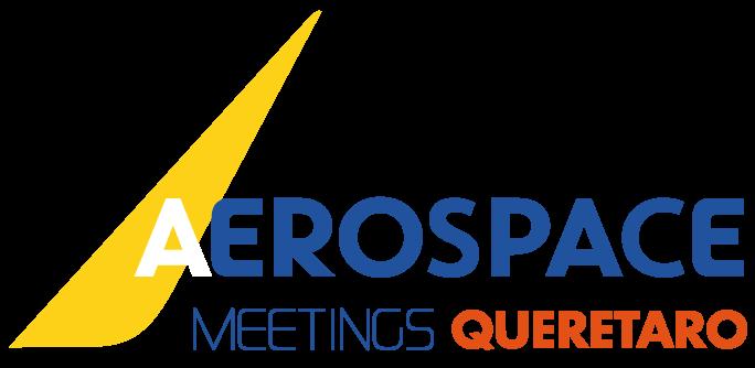 logo aerospace meetings queretaro